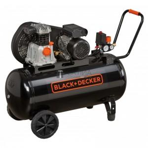 Black & Decker BD220/100-2M kéthengeres ékszíjas kompresszor 1,5kW, 100l, 10bar