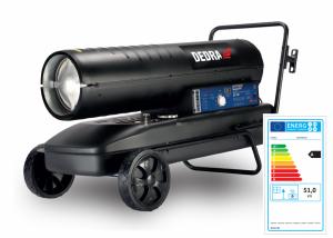Dedra DED9964AT gázolajos hősugárzó termosztáttal 51kW