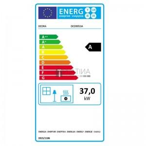 Dedra DED9953A gázolajos hősugárzó termosztáttal 37kW