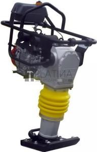 AGT CV76H  döngölőgép 70kg 13,7kN (Honda GX120 motor)