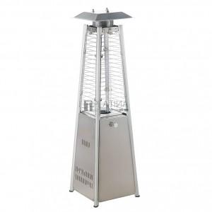 MEVA Pyramída Mini asztali gázüzemű teraszfűtő hőkandeláber (3 kW)