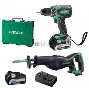 Hitachi-Hikoki DS18DBSL akkus fúró + CR18DSL orrfűrész (2 x 5.0Ah)