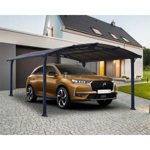 Palram Arcadia 4300 - fedett kocsibeálló 430 x 359 x 242 cm