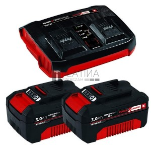 Einhell 2x 3,0Ah & Twincharger Kit
