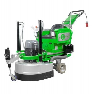 Dr. Schulze DBS-820-4H-RIDER betoncsiszoló (4/24 szegmenssel)