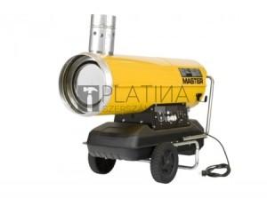 Master BV290 - Gázolaj üzemű (kéményes) hőlégfúvó szállítókocsival, (mobil fűtőberendezés)