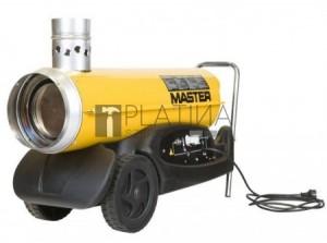 Master BV77 - Gázolaj üzemű (kéményes) hőlégfúvó szállítókocsival, (mobil fűtőberendezés)