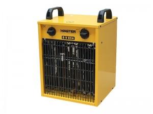 Master B9ECA elektromos hőlégfúvó beépített szobatermosztáttal (mobil fűtőberendezés)