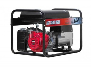 AGT 8503 HSBE prémium háromfázisú benzines áramfejlesztő