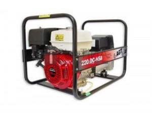 WAGT 200 DC HSB benzines hegesztő áramfejlesztő
