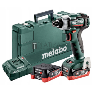 Metabo PowerMaxx SSD 12 akkus ütvecsavarozó (2x4.0 LiHD) 1/4