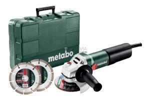 Metabo WEQ 1400-125 Set sarokcsiszoló