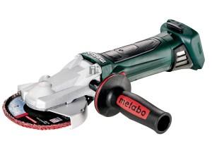 Metabo WF 18 LTX 125 Quick akkus laposfejű sarokcsiszoló