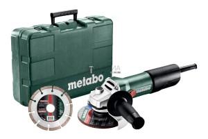 Metabo W 850-125 Set sarokcsiszoló