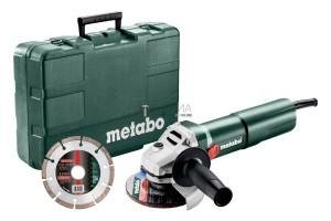 Metabo W 1100-125 Set sarokcsiszoló