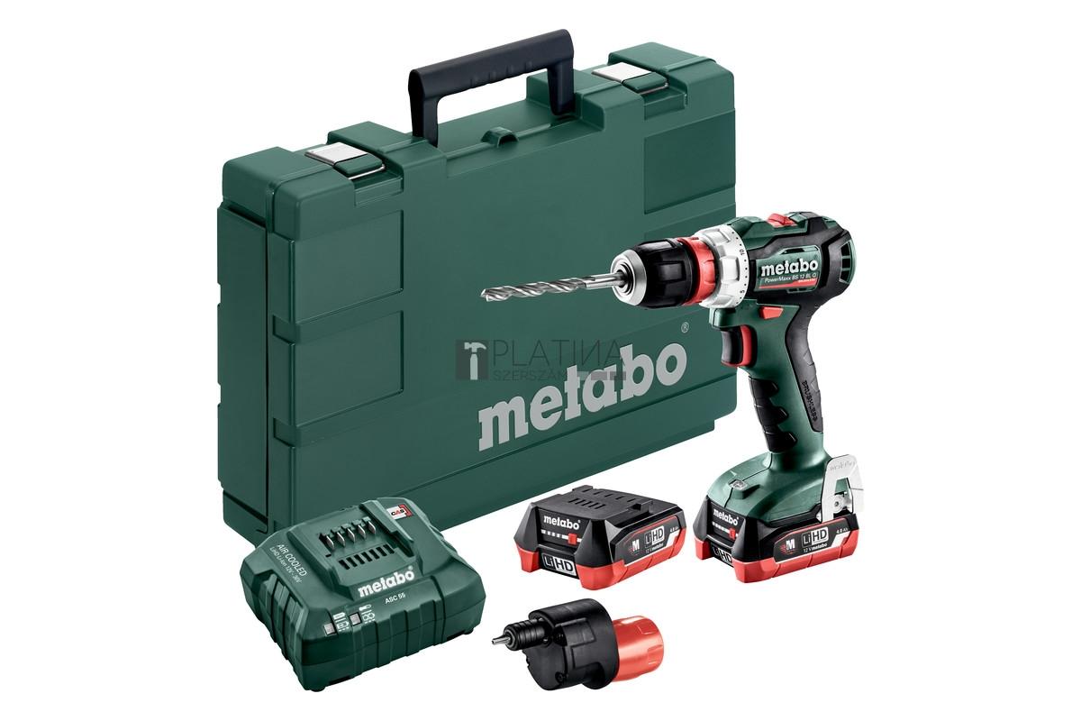 Metabo PowerMaxx BS 12 BL Q Pro akkus fúrócsavarozó