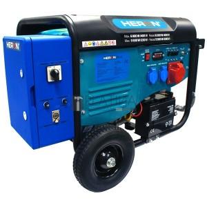Heron 420 3 fázisú, 6 kVA-es, távindítóval felszerelt áramfejlesztő