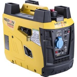 Heron benzinmotoros áramfejlesztő, 1 kVA, 230V, digitális szabályzású