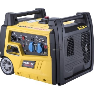 Heron benzinmotoros áramfejlesztő, önidítóval 3,0 kVA, 230V, 1 fázisú, inverteres