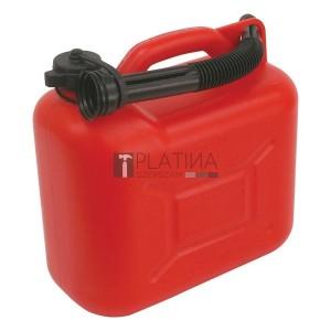 Benzines kanna, 5 literes műanyag kiöntővel