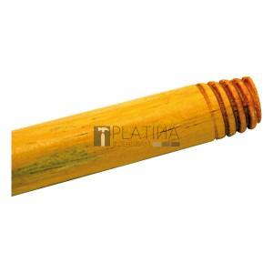 lakkozott fa nyél, olasz menettel (120cm)