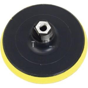 Extol gumitányér sarokcsiszolóhoz; 115mm, tépőzáras, max. ford.:12.500 1/min