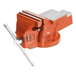 Extol satu fix;100 mm, 4,5 kg, max.befogás:100mm, max. összeszorító erő: 8kN, pofák keménysége: HRC 48-52