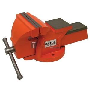 Extol satu fix;150 mm, 10 kg, max.befogás:115mm, max. összeszorító erő: 15kN, pofák keménysége: HRC 48-52