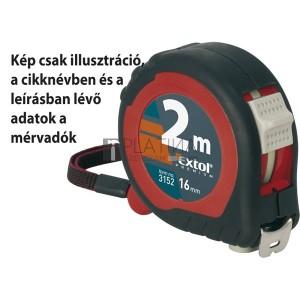Extol mérőszalag, gumírozott, 2 stoppos; 7,5m×25mm
