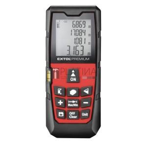 Extol távolságmérő, digitális lézeres; mérési tartomány: 0,05-40m, pontosság: +/-1,5mm, 98 g