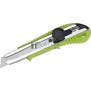 Extol tapétavágó kés, 18mm, fémház, csavaros rögz. autolock ; bliszteren