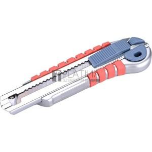 Extol tapétavágó kés, 18mm gum. nyél fémházas; öntöltős 3 pengével