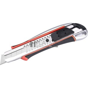 Extol tapétavágó kés, 18mm, autolock, ALU házas, gumirozott