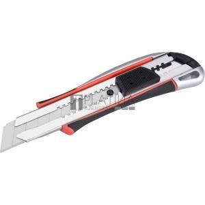 Extol univerzális vágó kés, autolock, fémházas, 25mm, fémházas, gumírozott