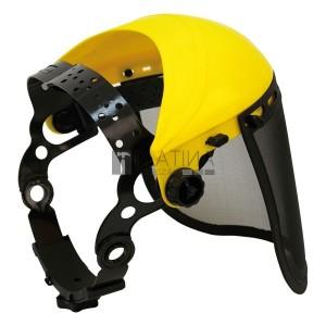Extol PC arcvédő pajzs, dróthálós