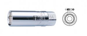HANS 1/2˝ mágneses gyertya dugókulcsfej 20,8mm 4335M20,8