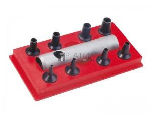 NAREX bőrlyukasztó készlet 9r. 2-9mm 854700