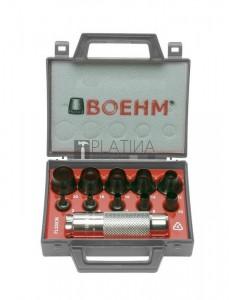 BOEHM tömítéskivágó készlet 10+1r. 3-20mm JLB320CM