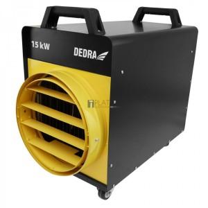 Dedra DED9925E elektromos hősugárzó 15 kW (400V) IP védelemmel