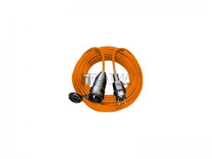 BREMAXX hosszabbítókábel IP44, 3G1,5 narancs