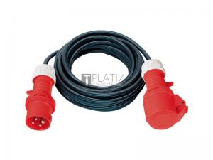 CEE hosszabbítókábel, 5-eres, 400 V, 5G4,0 gumi kábel