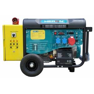 Heron 420 Yellow + háromfázisú, 6 kVA-es, vészhelyzeti áramfejlesztő; kommunikációs egységgel