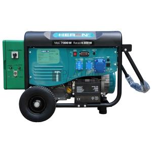 Heron 421 Green, egyfázisú, 6,8 kVA-es, távindítóval felszerelt áramfejlesztő