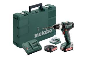 Metabo PowerMaxx SB 12 akkus ütvefúró-csavarbehajtó (2x2.0Ah) + PA12 LED USB