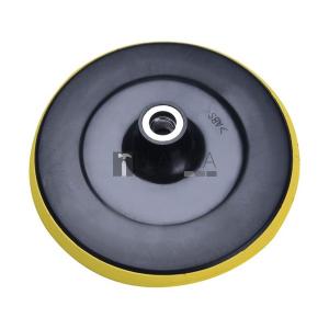Tartalék gumitalp tépőzáras polírozógéphez, átmérő: 180mm, M14, max: 8500 ford/perc