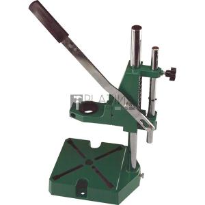 Extol fúrógépállvány; fém, 38 és 43 mm befogás, teljes magasság: 420 mm, max. fúrási mélység: 60 mm
