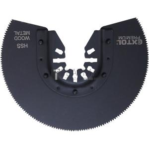 Extol tartalék körszegmens vágófej, 88mm, HSS