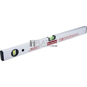 Fortum vízmérték 0,5mm/m pontos ( alu.), elektronikusan kalibrált libella