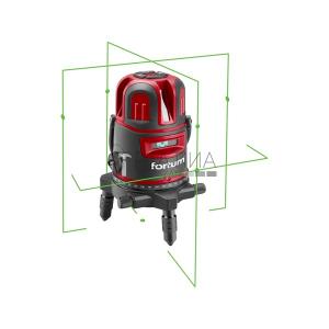 Fortum automatikus lézeres vízszintező, zöld, 1H4V6D
