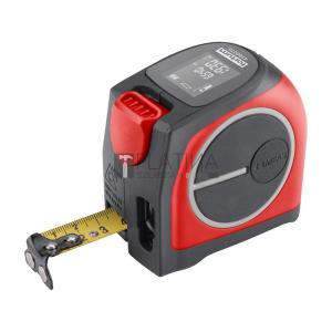 Fortum lézeres távolságmérő mérőszalaggal, 40 m / 5 m×19 mm, lézer pontoság: 2 mm